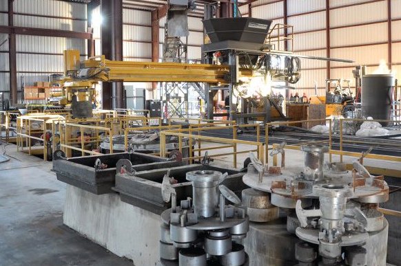 BFS Souveraen 1625 precast concrete pipe plant Lockhart Texas