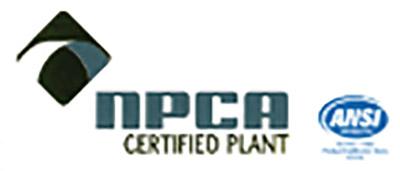NPCA Certified Plant
