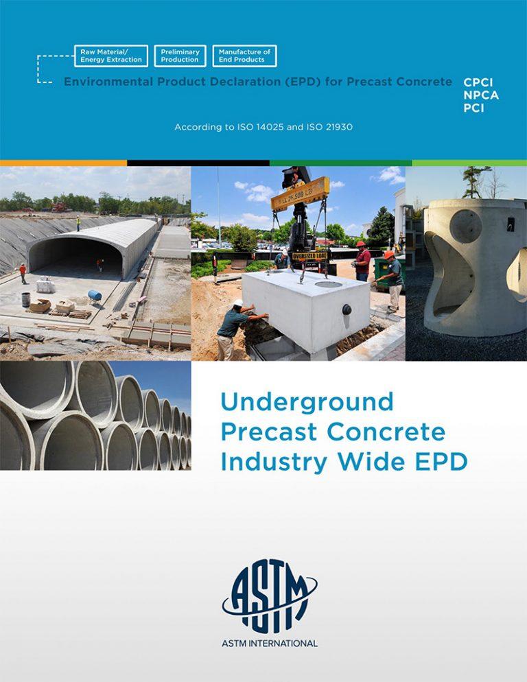 EDP Underground Precast Concrete Industry Wide EPO