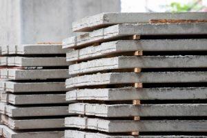 precast reinforced concrete slabs